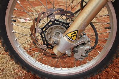Oversize front brake