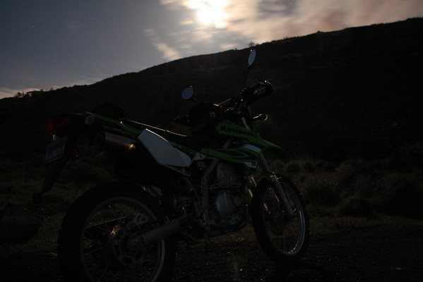 KLX at night