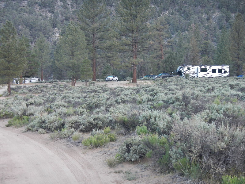 The second wave of campers on the weekend after Memorial Day Weekend.