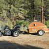 Beate's Trike and Trailer