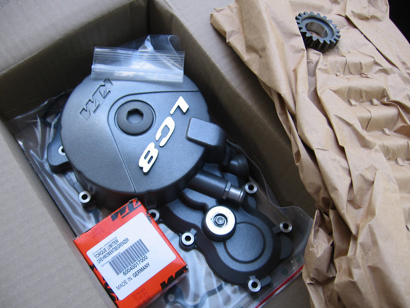 Everything you would need to replace a failed starter torque limiter... let's have some freakin' Noise Reduction here!!