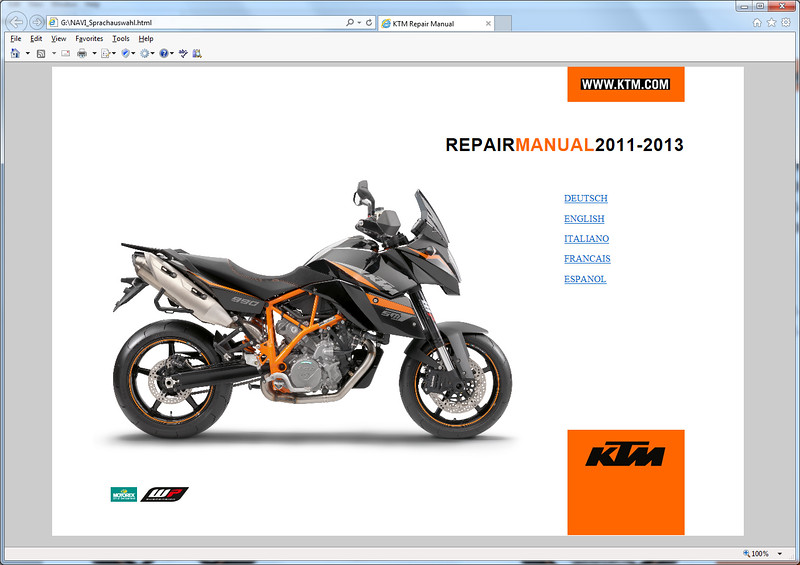 pictures ktm 990 adventure service repair manual pictures rh foryou 46 ru ktm 990 smr service manual ktm 990 smt service manual