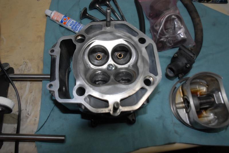 Bowl work and pocket polishing/porting