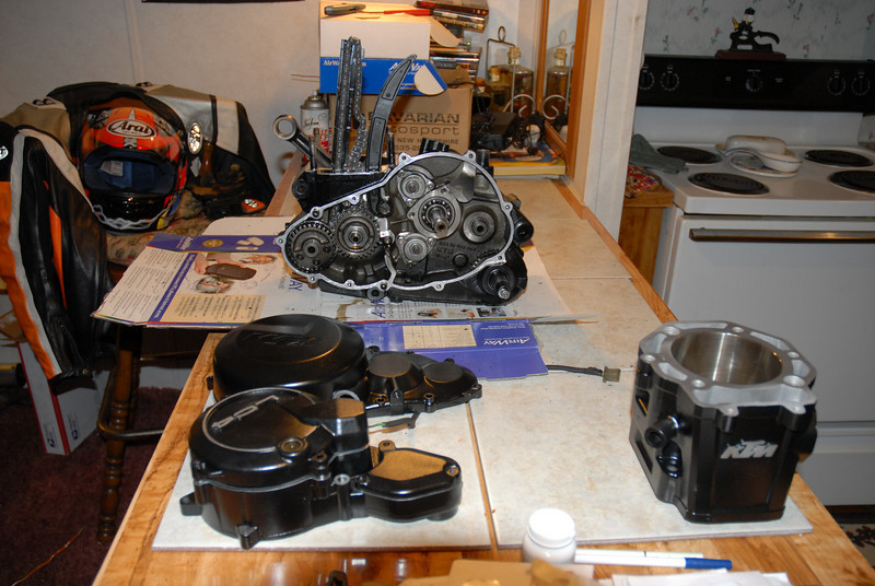 Ready for reassembly