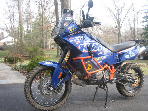 KTM Adventure Dakar