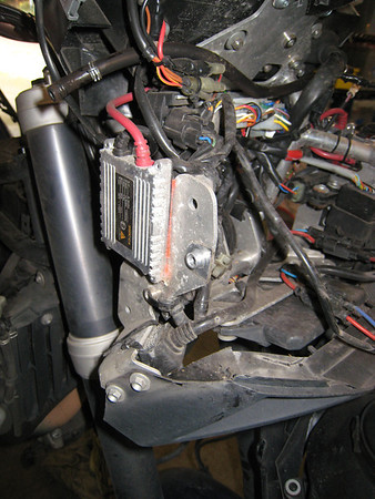 KTM 990 HID Lights in Euro headlight body