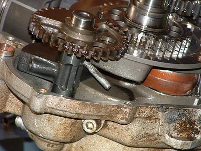 Justins 2001 KTM 400 Motor