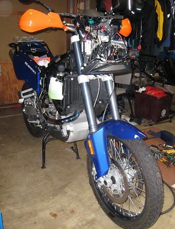 KTM 990S Technical