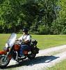 Uncle Buck (John) rides