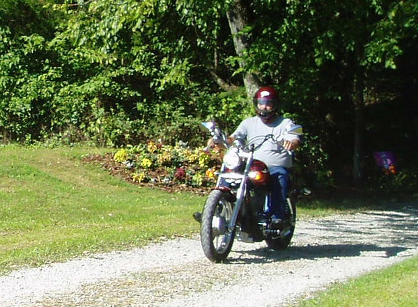 Jim in NW Ohio rides out