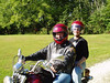 Fleck and Lisa ride out