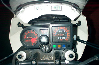 Dashboard on KLR 650