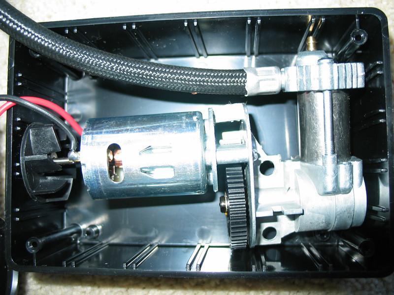 Mini aircompressor in the new box