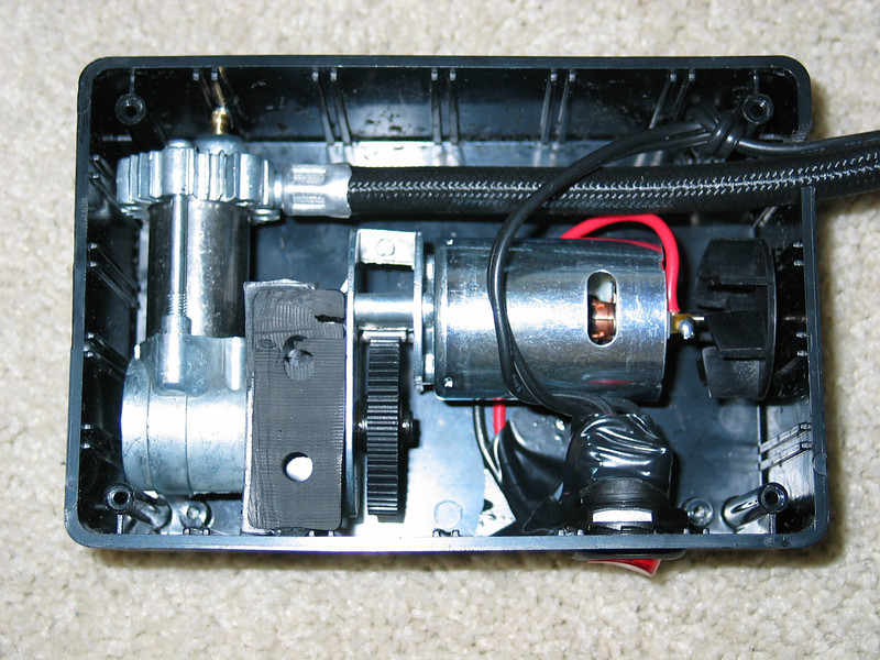 Completed mini aircompressor (inside)