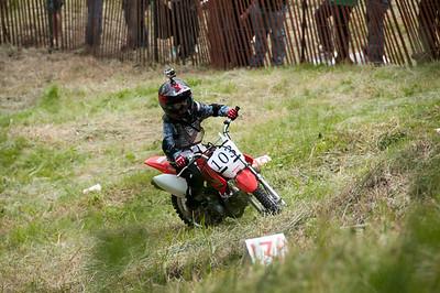 Kettle Moraine Sport Riders Motorcycle Hill Climb 2014 Kewaskum, WI