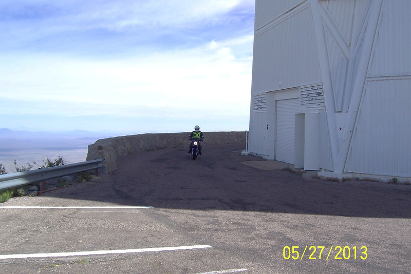 Here is Jim on his Suzuki naked bike.