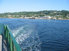 Ferry crossing from Mukilteo, WA to Whidbey Island, WA.