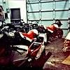 3 of the 5 new Moto Guzzi SE's.
