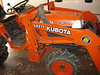 1998 Kubota B7300 4WD 16 HP Tractor with front loader.
