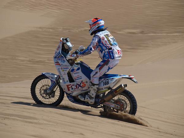 Dakar 2013, Stage 2, Pisco-Pisco, Kurt's photography & album