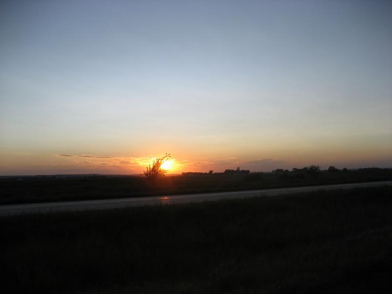 Sunset in Iowa??