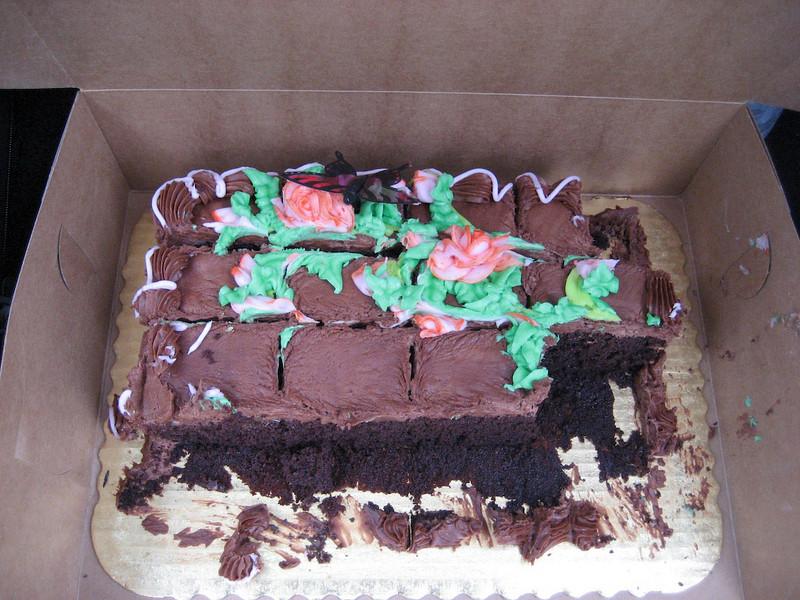 Dorsey's birthday cake.