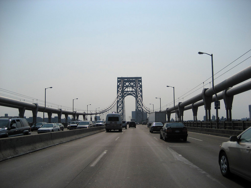Crossing the George Washington Bridge