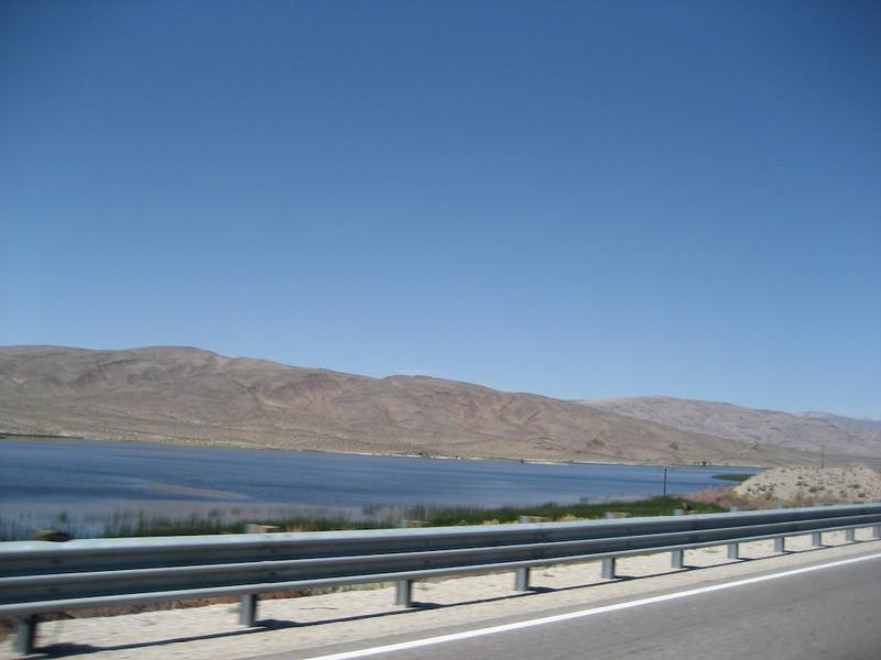 Then at the Desert National Wildlife Refuge... Water!