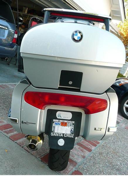 2002 BMW K1200LT Custom - back