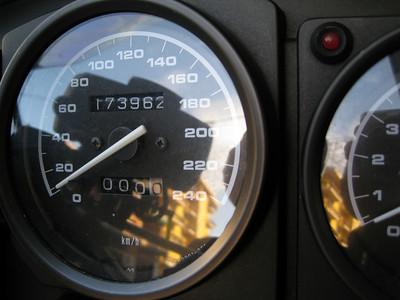 La partenza da casa...21 giugno, compleanno della moto: 5 anni!