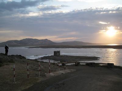 L'alba ad Isola Piana.