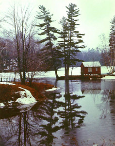 1117a Woodard  Reservoir, W Bridgewater, VT, apr 1970