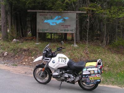 Big Moose Lake, Herkimer Co NY (86, B2) may 20, 2005b, Tom Dudones # 110