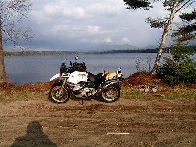 Upper Saranac Lake, Franklin Co NY, (95,B6)apr 28, 2005, Tom Dudones # 110