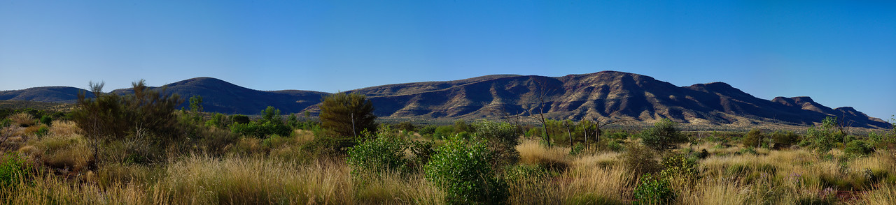 Mt Robinson panorama, East Pilbara, WA