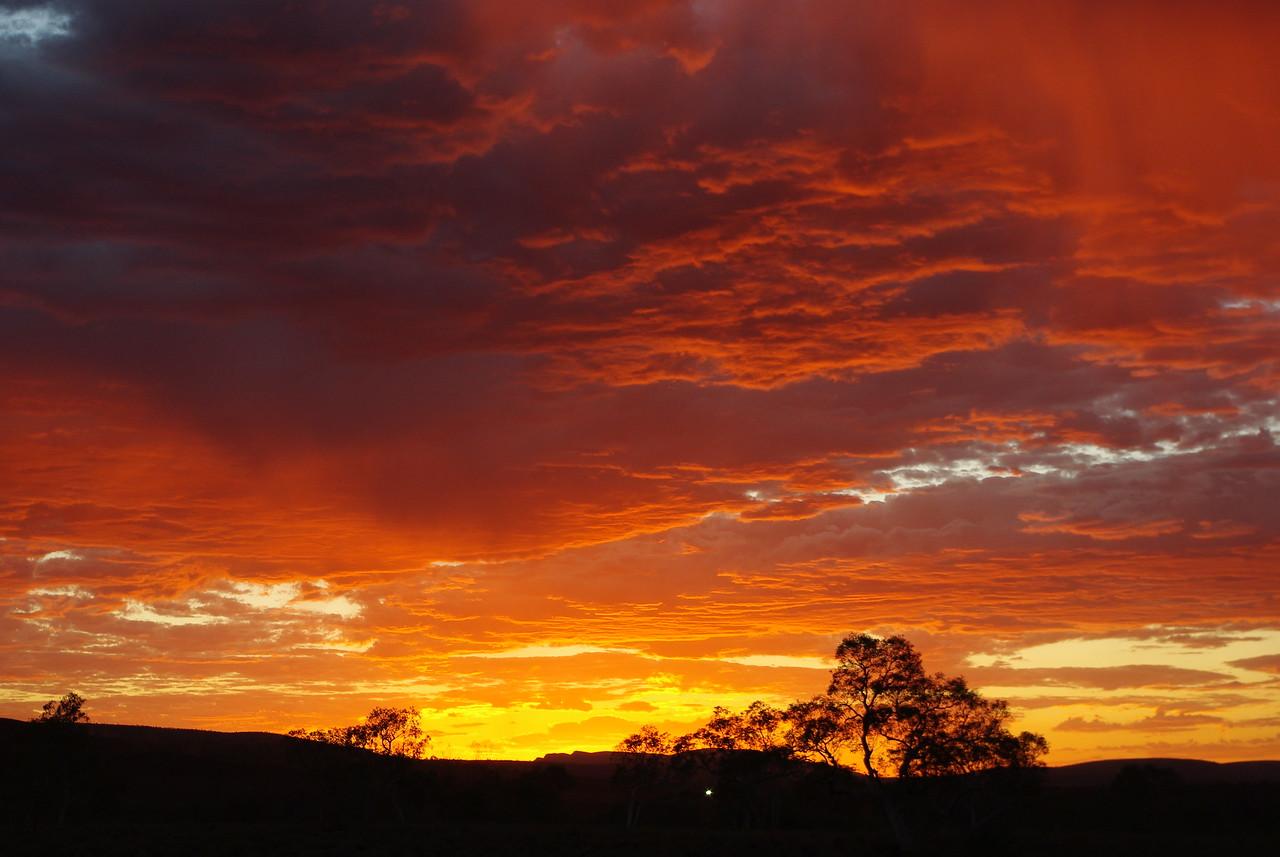 Pilbara summer sunset