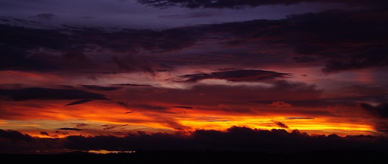Camp sunset.