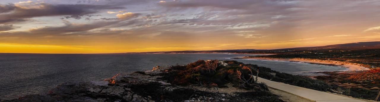 Red Bluff, Kalbarri, panorama