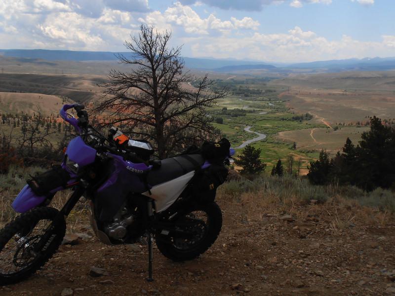 High above Laramie River