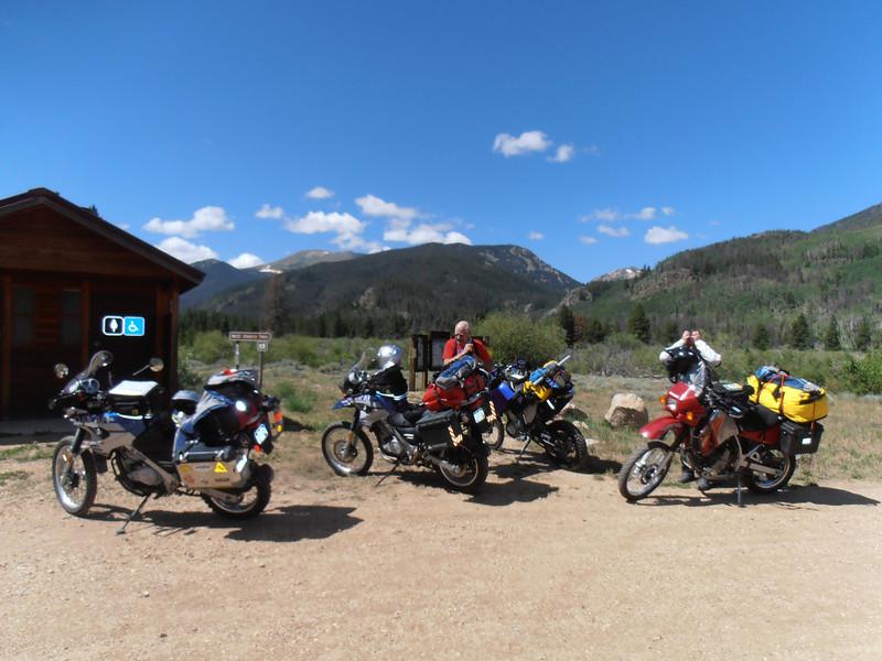 Laramie River Road Trail Head