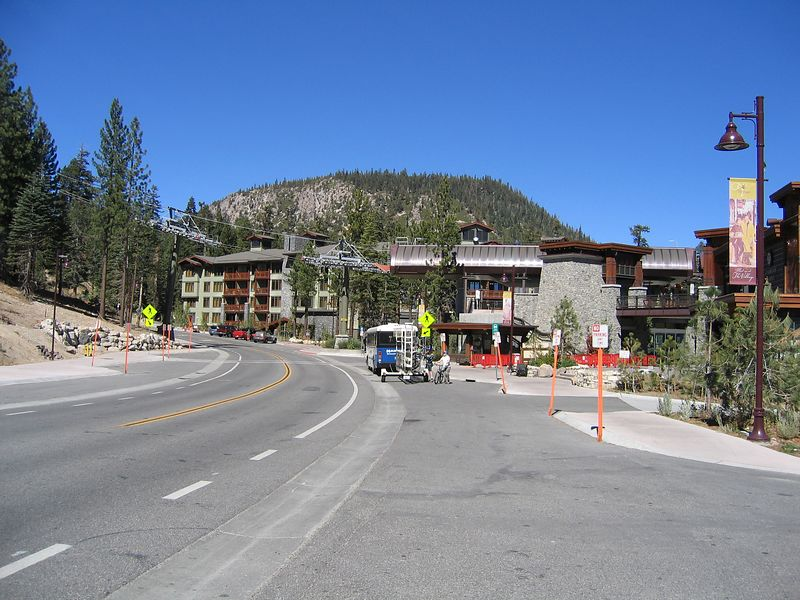 "Mammoth Lakes used to be a sleepy little resort town. But now it's no different that the likes of  the Lake Tahoe area or any of America's other ""premire"" ski resorts. Home of the Hummer crowd now."