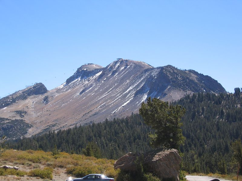 Mammoth Mountain Ski resort. If you look at the upper left of the photo, you can see the lift.