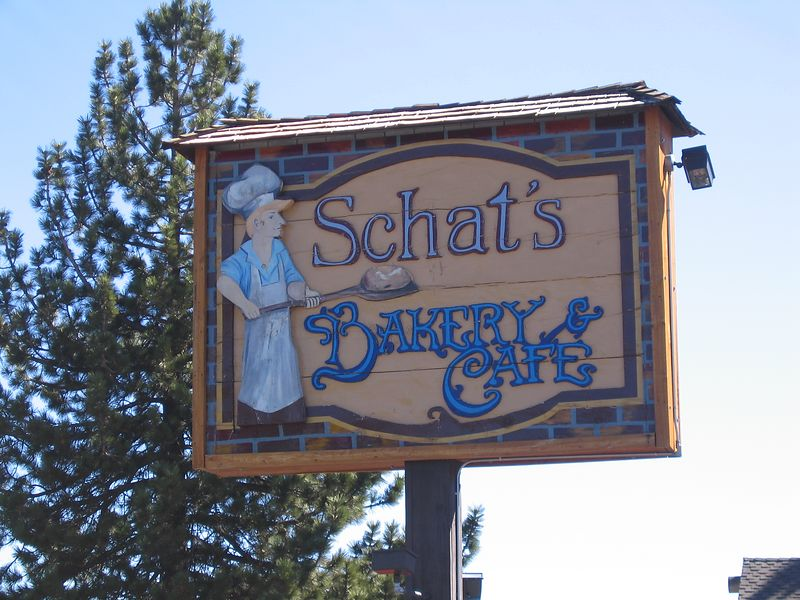 No trip to the region would be complete without a stop at Schat's Bakery in Mammoth Lakes.