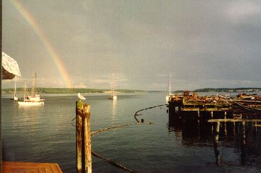 Rainbow in Port Townsend, WA