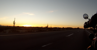 Sunset just west of Phoenix