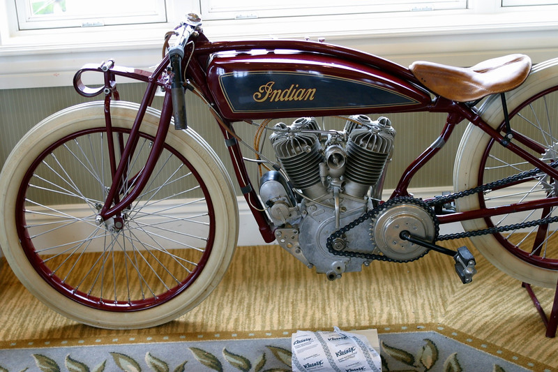 Nice Indian....plus it's Steve McQueen's.