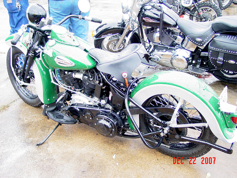 1940 Harley, This bike was stunning.