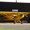 Yeller Aeroplane - to be more specific:  1946 Piper J3C.