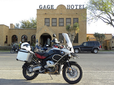 The historic Gage Hotel