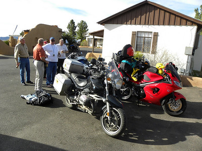 The bikes of Paul and Voni